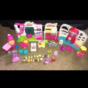 Other - LOWEST Shopkins Playset Bundle